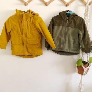 Boy coats size 2T